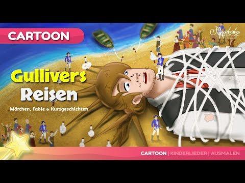 Gullivers Reisen NEUE märchen | Gutenachtgeschichte für kinder