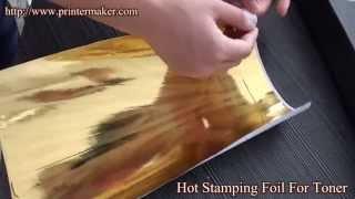 Hot Stamping Foil For Toner.Toner Hot Stamping Foil,Fusing Foil