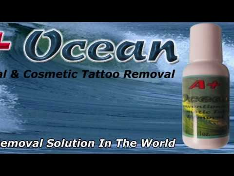 Permanent cosmetic removal, tattoo removal, safe and