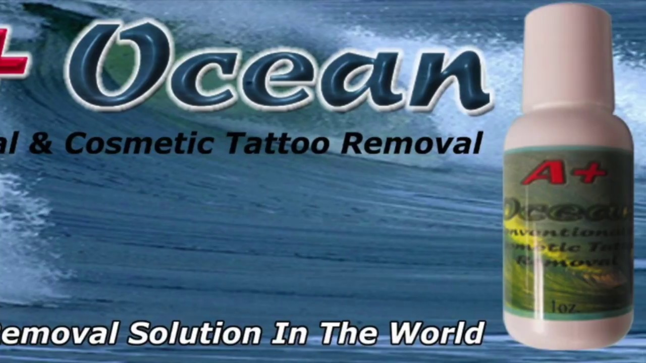 Permanent cosmetic removal tattoo removal safe and for Saline tattoo removal