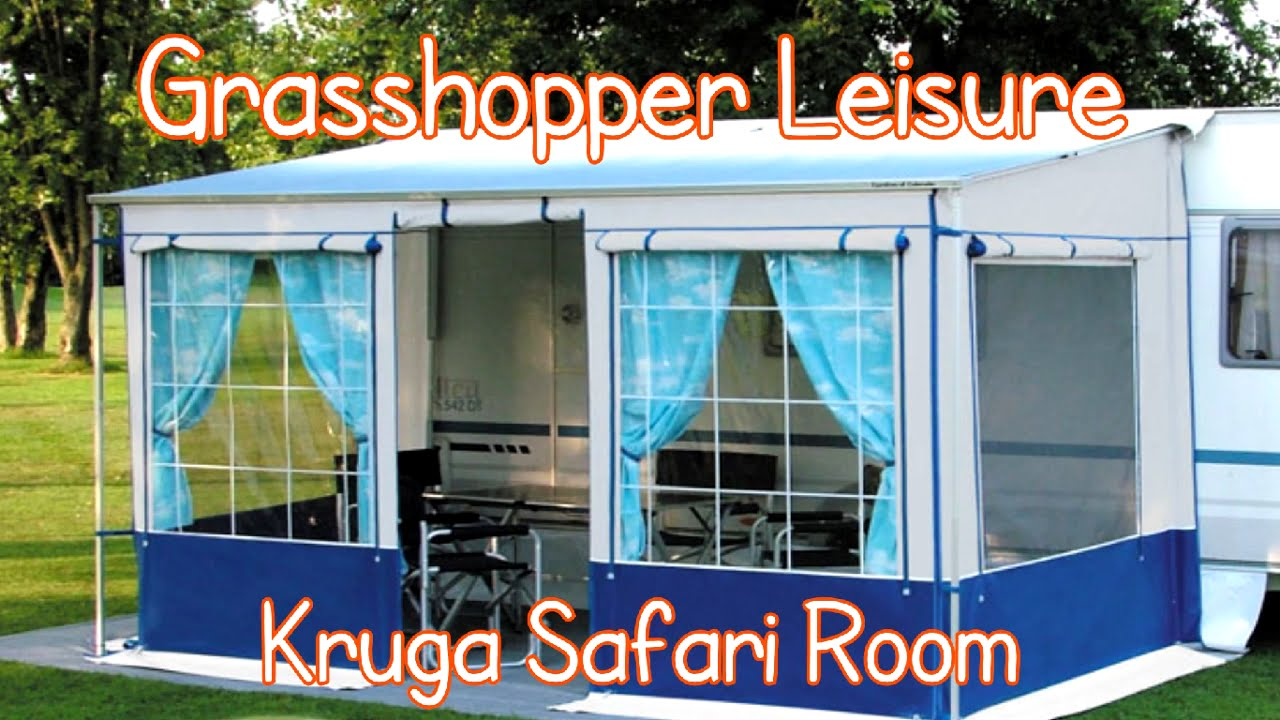 Kruga Safari Room Universal Motorhome Awning Youtube
