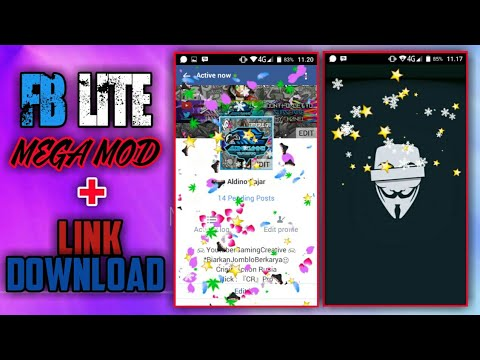 FACEBOOK LITE FULL MOD !! - FB LITE + Link Download ! - Aldino Gaming12