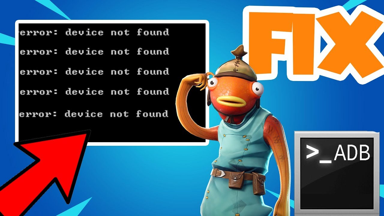 FIX | ADB Devices Not Found in command prompt ERROR (2019)