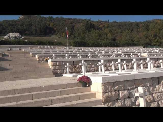 Polish military cemetery at Monte Cassino - Cmentarz wojskowy na Monte Cassino