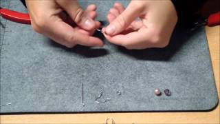 Jewelry making - Mini DIY Project 2: how to make sparkling earrings fast and easy Thumbnail