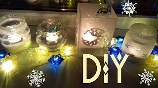 DIY Новогодний Декор своими руками из обычных вещей/Holiday decor