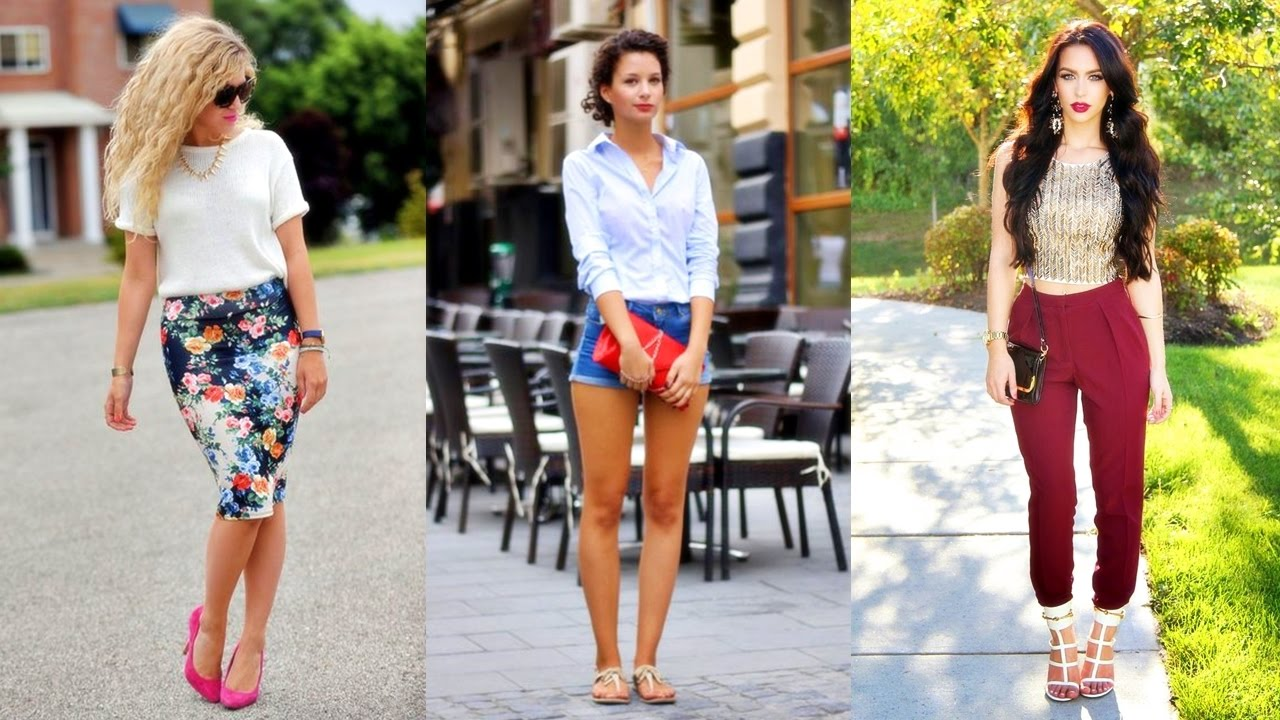 LOS MEJORES OUTFITS PARA LUCIR CHIC 2017