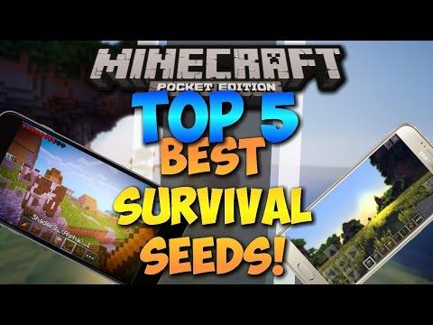 Top 5 best survival seeds for Minecraft pocket edition