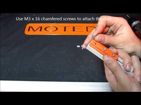 Motedis - Profilgleiter Nut 5 I-Typ - Profile Slider Slot 5 I-Type - 1