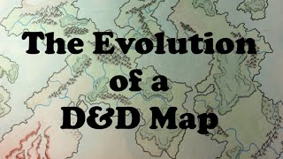 the evolution of a d map
