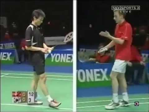 2006 All England MSSF Peter Gade vs Lee Hyun-il