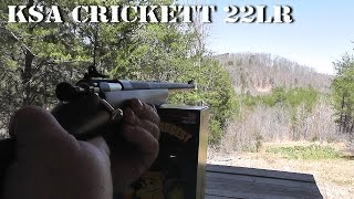 Shooting Our New KSA 22LR Crickett at the 500 Yard Range