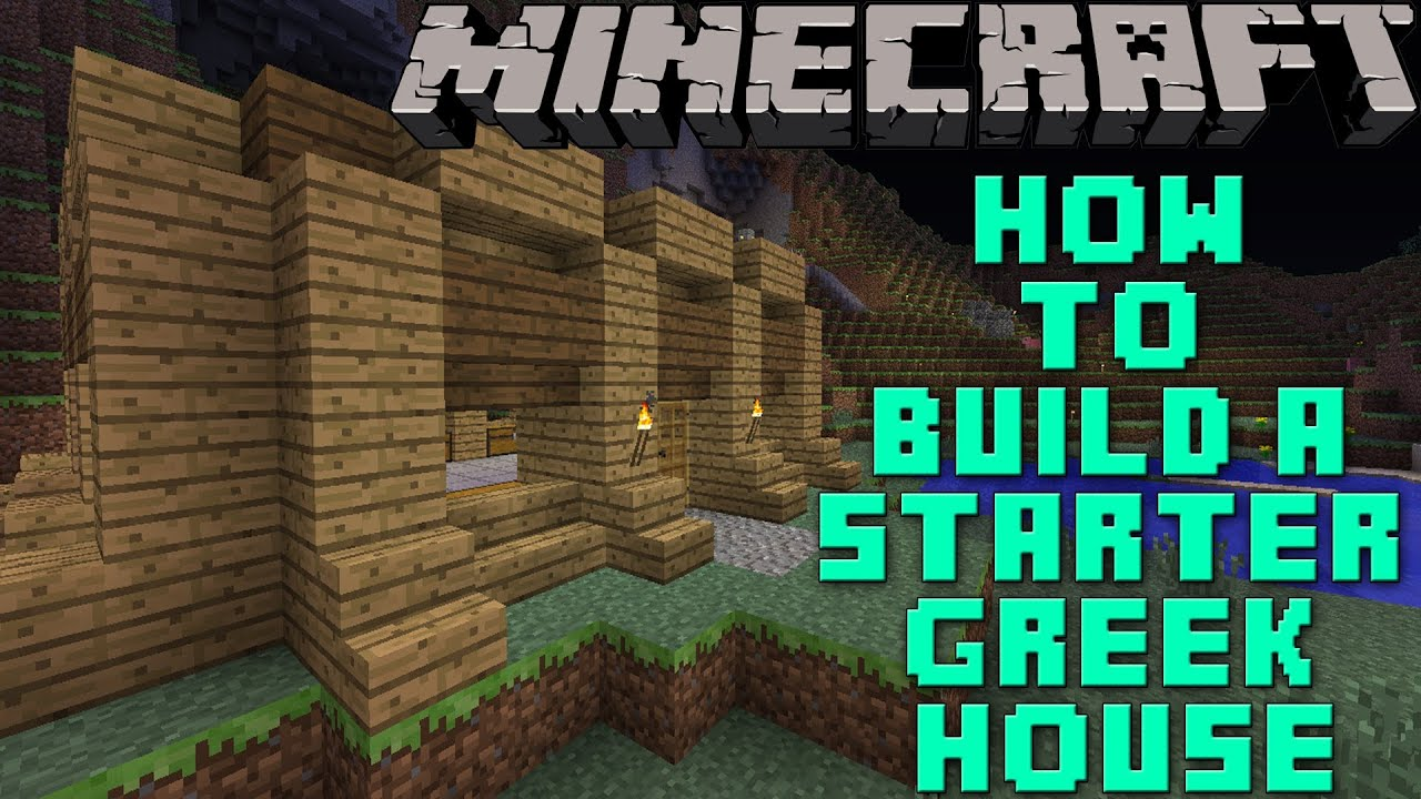 Ancient Greek Houses Minecraft The