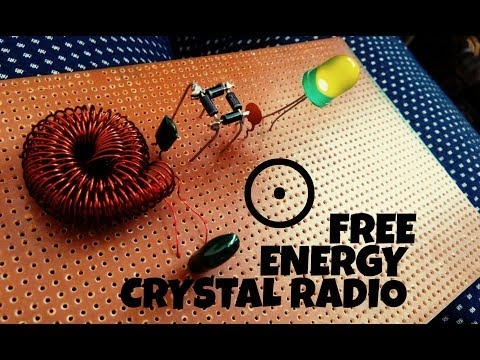 Free energy Crystal Radio