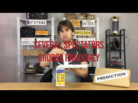 LICENSE PLATE PREDICTION (Gimmicks and Online Instructions) by Martin Andersen