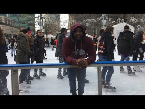Ice Skating For the First Time At Campus Martius Park   January 2, 2017   Journal