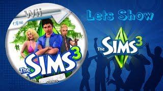 Let´s Show Die Sims 3 für die Wii