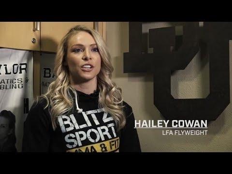 Baylor University great Hailey Cowan (LFA 78)