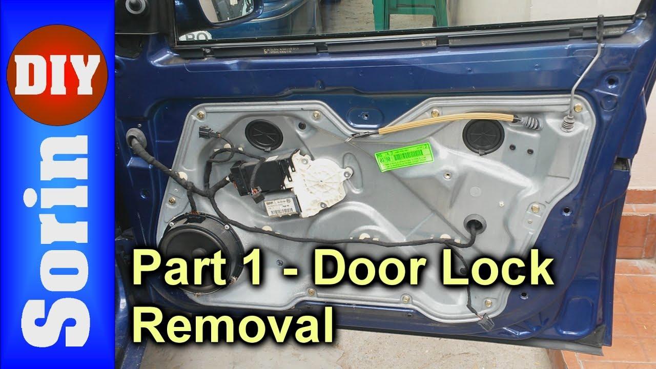 Door Lock Module Removal Seat Leon 1m Toledo 2 Part