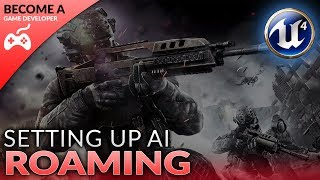 Willekeurige AI 'Roaming Setup' - #28 Creëren van Een First Person Shooter (FPS) Met de Unreal Engine 4