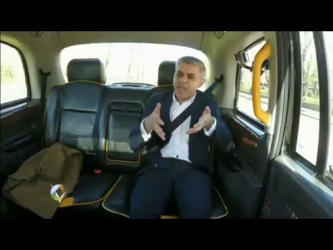 Norman Smith's stupid taxi cab interview with Sadiq Khan