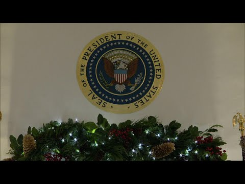 Associated Press: Trump White House unveils final holiday decorations