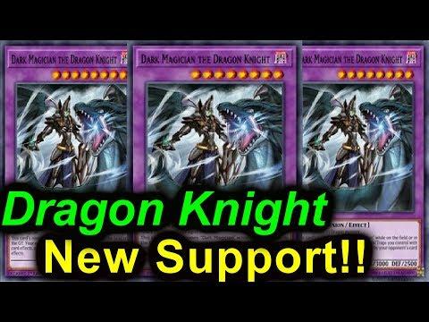 Dark Magician Ft.. Dragon Knight - New Support!! 【LINK SUMMON】