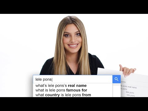 Lele Pons Answers The Web's Most Searched Questions | WIRED