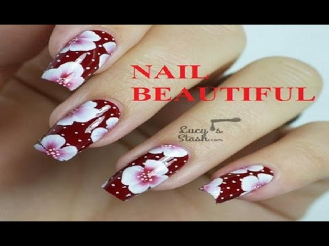 Nail art for beginners vs  tutorials/Nail art designs step by step at home without tools in hindi