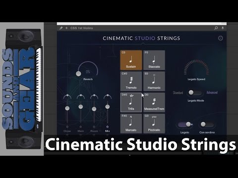 Cinematic Studio Strings Review   Cinematic Studio Series