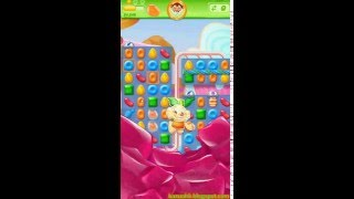 Candy Crush Jelly Saga - Level 154 (No boosters)