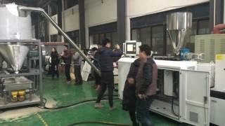 pvc resin powder granulating pelletizing line