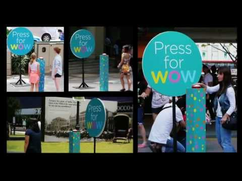 Watsons Flash Mob - Press For WOW