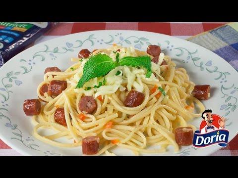 spaghetti doria con cabano al jardin