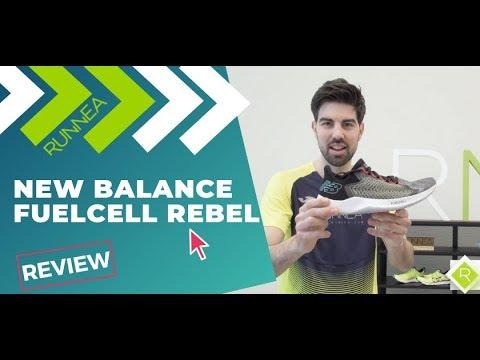 New Balance Fuelcell Rebel: Así es la rapidísima zapatilla de la marca americana