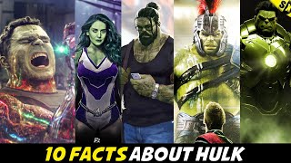 10 Secret Facts You Didn't Know About Hulk | Can See Ghosts ? [Explained In Hindi]