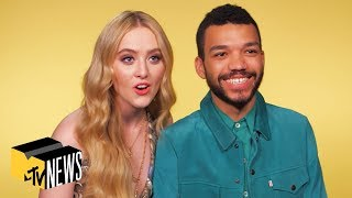 Kathryn Newton & Justice Smith on 'Detective Pikachu' & Pokémon | MTV News