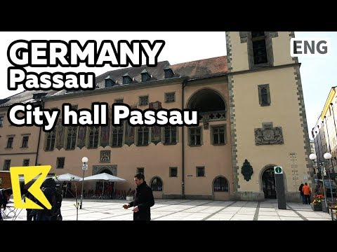 【K】Germany Travel-Passau[독일 여행-파사우]파사우 시청사/City hall Passau/Stadt Passau/Danube/Inn/Ilz/River