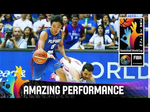Jeff Chan - Amazing Performance - 2014 FIBA Basketball World Cup