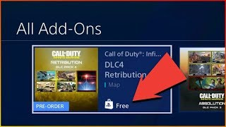 How To Download Dlc 4 [Retribution] For Infinite Warfare [Ps4 Tutorial]