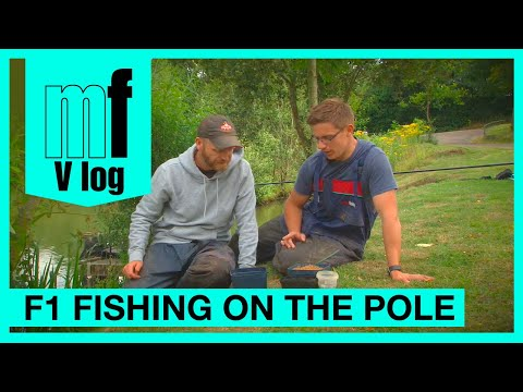 Match Fishing - Rob Wootton & Joe Carass - F1 fishing on the pole - VLOG