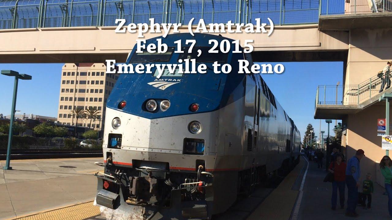 Reno A River Runs Through It & A Train Too!