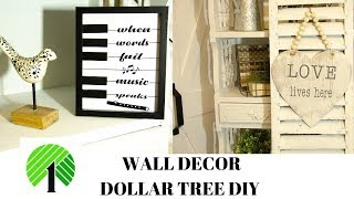 WALL DECOR DOLLAR TREE DIY