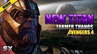 Farmer Thanos In Avengers 4 | New Titan | Hindi | Super xpose