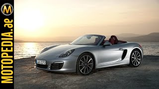 2015 Porsche Boxster S Review - بورش بوكستر اس - Dubai UAE Car Review by Motopedia.ae