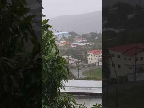 Huracán Irma en st Thomas usvi