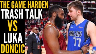 The Game Harden TRASH TALKED Luka Doncic & Then Luka TOOK OVER in CLUTCH! | BasketballDream