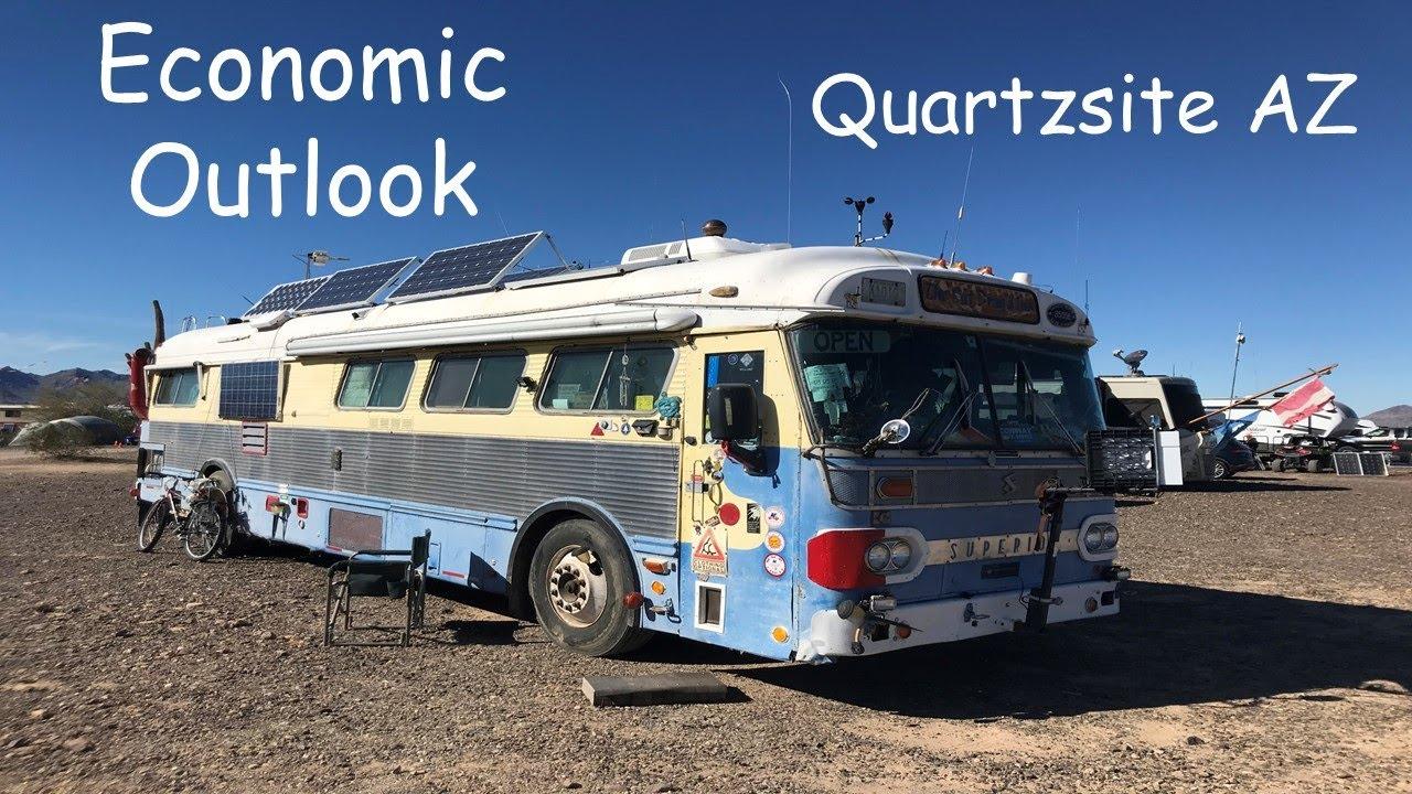 Quartzsite Arizona RV Camp - Camping 405-306-2309 - YouTube