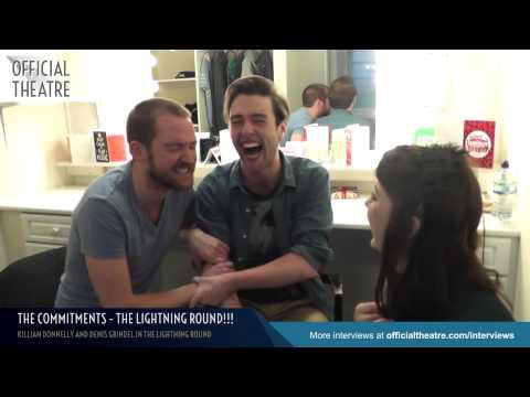 Killian Donnelly and Denis Grindel: The Lightning Round!