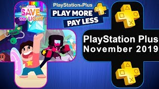 PS PLUS NOVEMBER 2019 FREE PS4 GAMES (PS+) Playstation Plus News Update